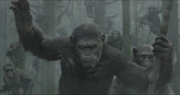"A scene from ""Dawn of the Planet of the Apes."" 20th Century Fox."
