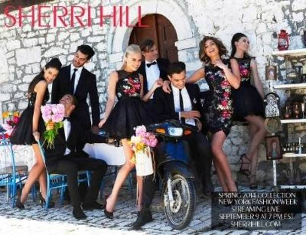 The Sherri Hill New York Fashion Week runway show will streami live at 6 p.m. Sept. 9.