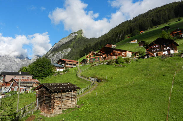 The little village of Gimmelwald, high in the Swiss Alps, is one of my all-time favorite European destinations. (Photo by Rick Steves)
