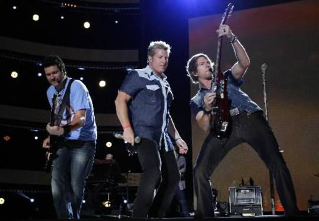 Rascal Flatts performs at the 2012 CMA Music Festival. (AP file)