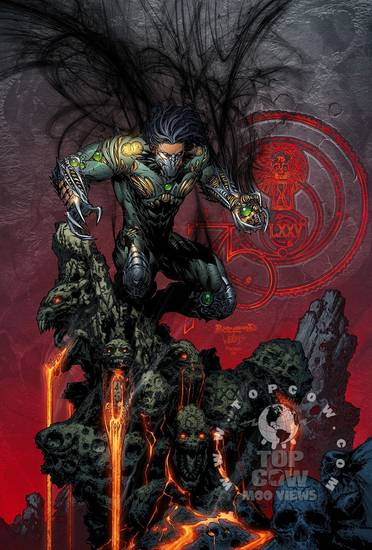 cover to Top Cow comic book Darkness 75