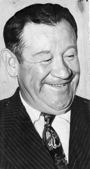 Oklahoma athlete Jim Thorpe pictured in the 1940s.  THE OKLAHOMAN ARCHIVE <strong>FILE</strong>