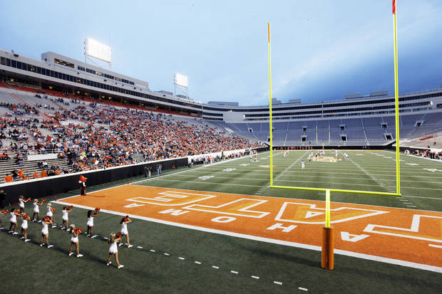Oklahoma State could get a boost in season ticket sales from Georgia fans traveling to Stillwater.  Photo by Nate Billings, The Oklahoman