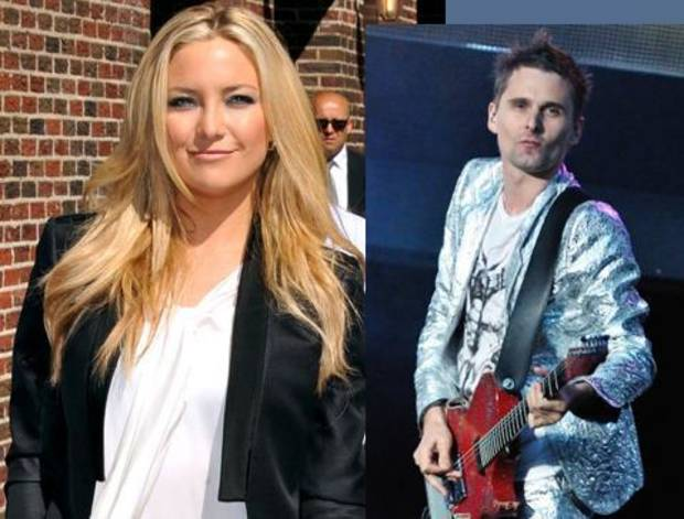 Kate Hudson and Matt Bellamy are parents to a baby boy born Saturday.