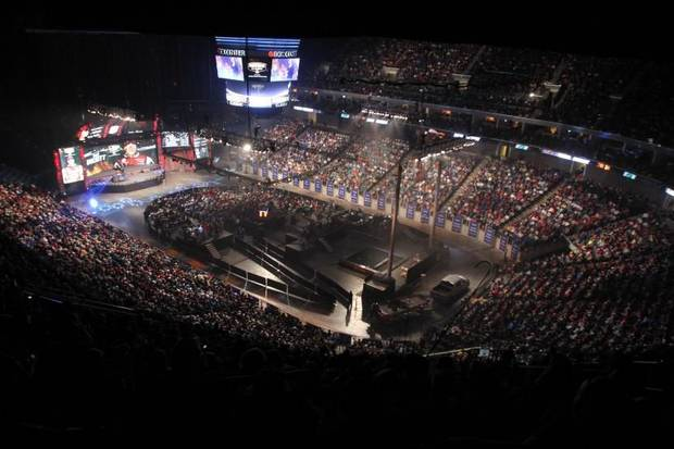 The BOK Center in Tulsa will once again be the site for the weigh-ins for the 2016 Bassmaster Classic. Photo by B.A.S.S.