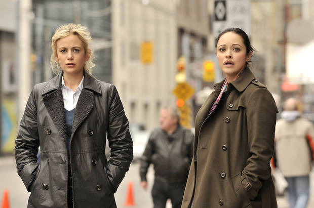 Rachael Carpani and Marisa Ramirez of &quot;Against the Wall&quot; - Lifetime Photo