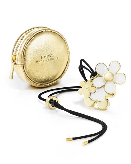 Marc Jacobs daisy soid perfume necklace