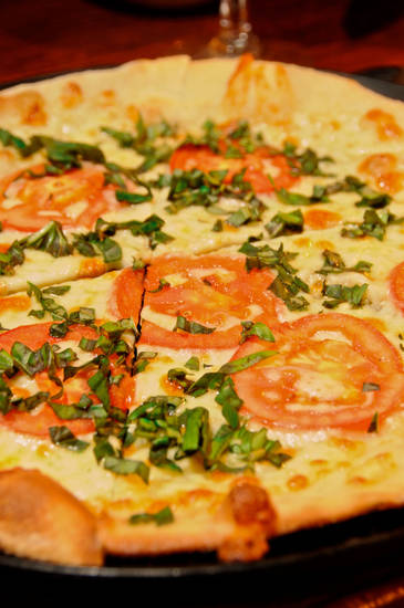 Margherita Pizza, Photo by Ben Pendleton