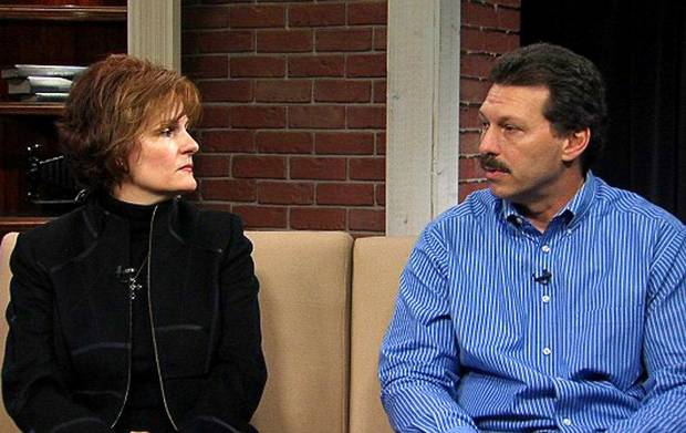 Vicki and Scott Behenna, the parents of Edmond soldier Michael Behenna, discuss the case in 2009.  Photo by NewsOK.tv