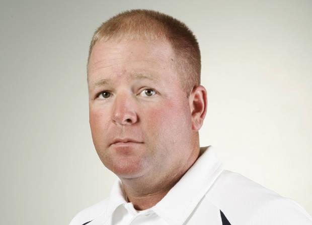 Billy Brown, Shawnee, football coach, mug, the fall high school sports photo day at The Oklahoman, Wednesday, August 23, 2006, in Oklahoma City. By Nate Billings, The Oklahoman Archives