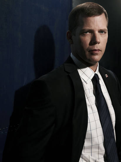 PRIME SUSPECT -- Season: 1 -- Pictured: Tim Griffin as Det. Augie Blando -- Photo by: Gavin Bond/NBC