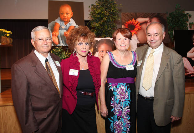 Gene and Jo Downing and Ruth and Dennis Napier also were among the guests.