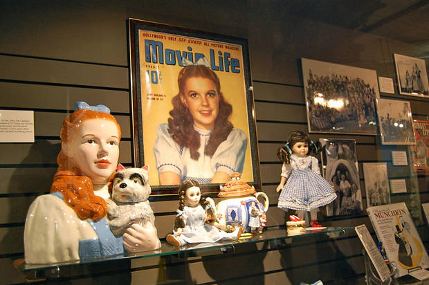 Oz memorabilia is on display at the Oz Museum of Wamego, Kansas. Photo by Annette Price, for The Oklahoman. &lt;strong&gt;&lt;/strong&gt;