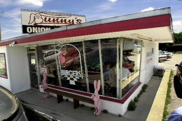 Bunny's is one of the city's best and well-known purveyors of fried-onion burgers.