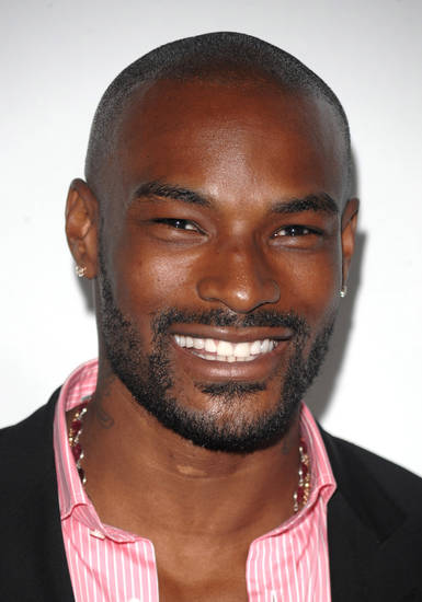 "** FILE ** In this June 4, 2008 file photo, Tyson Beckford arrives at Bravo channel's first ever ""The A-List Awards"" at The Hammerstein Ballroom in New York. (AP Photo/Peter Kramer, file) ORG XMIT: NYET239"