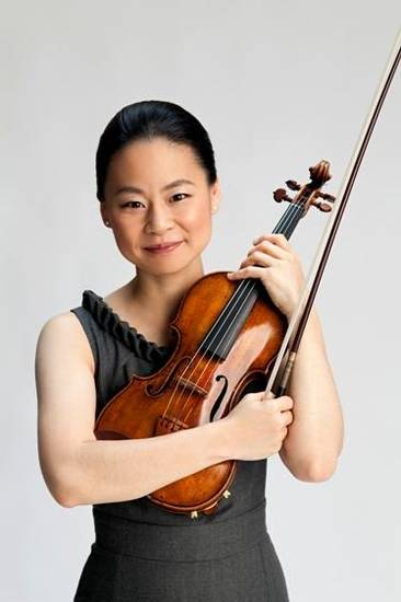 Midori will perform April 24 at Armstrong Auditorium.