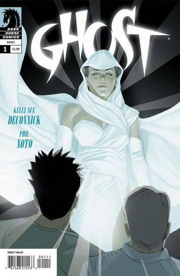 The cover to &quot;Ghost&quot; No. 1. Dark Horse Comics. &lt;strong&gt;&lt;/strong&gt;