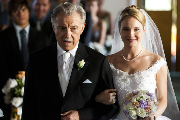 "Harvey Keitel and Amber Clayton in ""Fatal Honeymoon"" - Lifetime Photo"