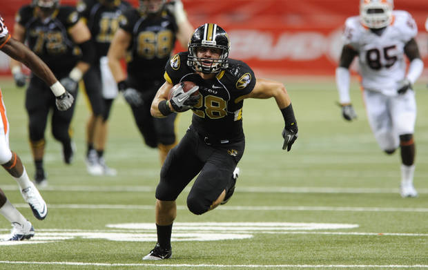 T.J. Moe and Missouri play host to Oklahoma on Saturday. AP photo