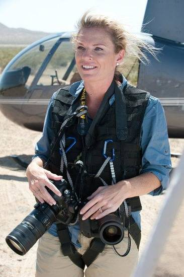 """THE MOMENT -- """"Sports Illustrated Photographer"""" Episode 101 -- Pictured: Tracie Marcum -- (Photo by: Colleen Hayes/USA Network)"""