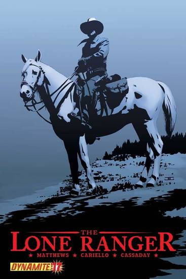 Lone Ranger 17 cover by John Cassaday