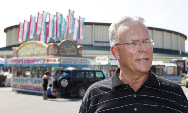 Scott Munz, the Oklahoma State Fair vice president of marketing and public relations, says planning is a year-round effort of all involved in the Oklahoma State Fair.  <strong>David McDaniel - The Oklahoman</strong>