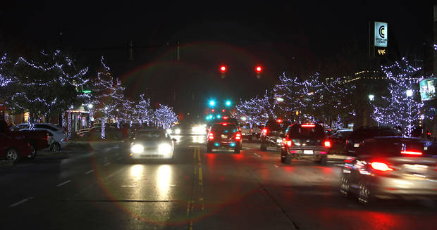 For the holidays, Edmond replaced last year�s damaged incandescent lights with LED bulbs, which are expected to save more than 50 percent in electricity use.