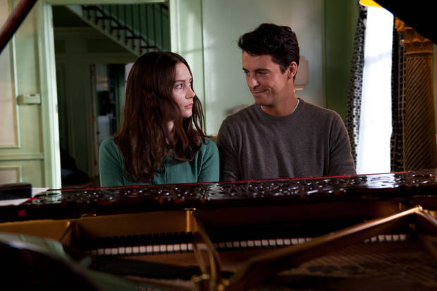 "This film image released by Fox Searchlight Pictures shows Mia Wasikowska, left, and Matthew Goode in a scene from ""Stoker."" (AP Photo/Fox Searchlight Pictures) <strong>Macall Polay - AP</strong>"