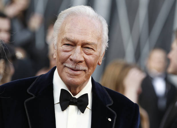 Christopher Plummer arrives before the 84th Academy Awards on Sunday, Feb. 26, 2012, in the Hollywood section of Los Angeles. (AP Photo/Matt Sayles) ORG XMIT: OSC127