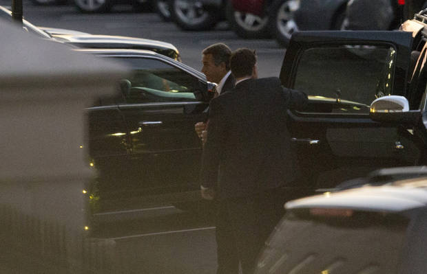 "Speaker of the House John Boehner, R-Ohio, left, arrives at the White House for a meeting with President Barack Obama, in Washington, on Thursday, Dec. 13, 2012.  With time growing short and no ""fiscal cliff"" progress evident, President Barack Obama and Republican House Speaker John Boehner set face-to-face negotiations for late Thursday at the White House. (AP Photo/Jacquelyn Martin)"