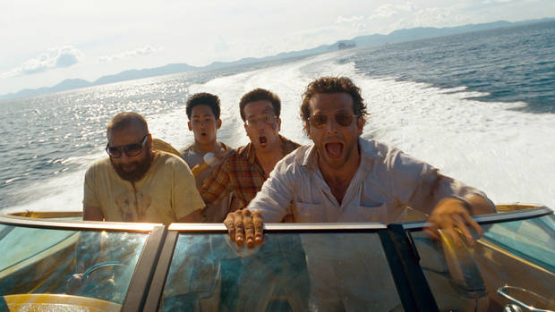 "(L-r) ZACH GALIFIANAKIS as Alan, MASON LEE as Teddy, ED HELMS as Stu and BRADLEY COOPER as Phil in Warner Bros. Pictures' and Legendary Pictures' comedy ""THE HANGOVER PART II,"" a Warner Bros. Pictures release."