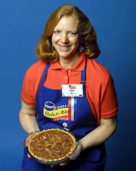 2002 file photo -  Kathy  Ault of Edmond prepared a Pecan Pie Ginger Cheesecake and won $2,000 in the desserts category at the 40th Pillsbury Bake-Off held in Orlando, Fla.