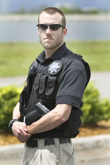 Pursuit Team OKC member Eric London. <strong>Steve Gooch - The Oklahoman</strong>