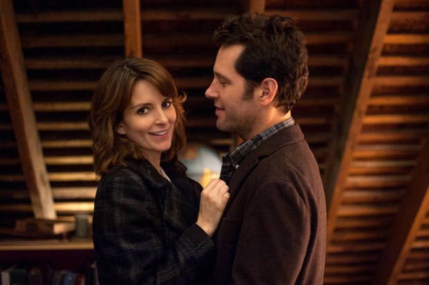 "Tina Fey and Paul Rudd star in the comedy-drama ""Admission."" FOCUS FEATURES PHOTO <strong></strong>"