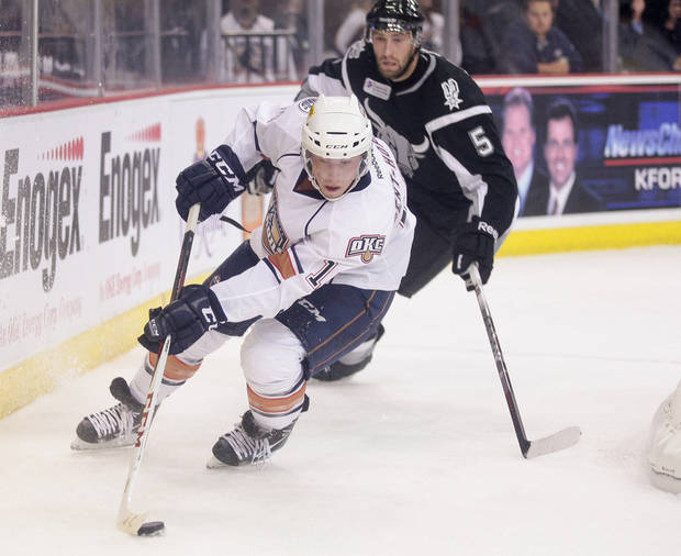 PHOTO BY STEVEN CHRISTY/OKC BARONS PROVIDED <strong>Steven Christy</strong>