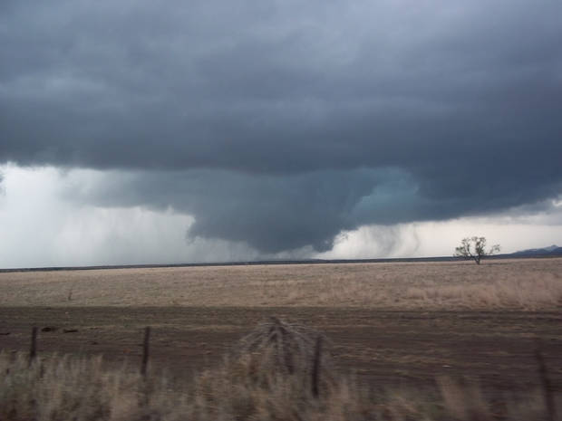Tornado North of Indiahoma 11/07/2011 taken by Katelynn Hyden