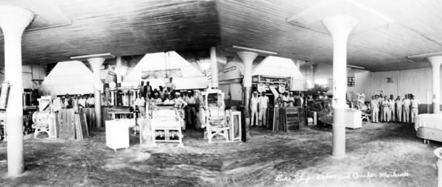 OKLAHOMA CITY BUILDINGS / BAKE SHOP OVENS AND CRACKER MACHINES / BAKING ROOM: Iten Biscuit Co.