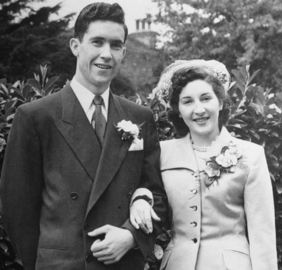 Brady and Marion Howard, of Oklahoma City, were married July 9, 1952, in London.