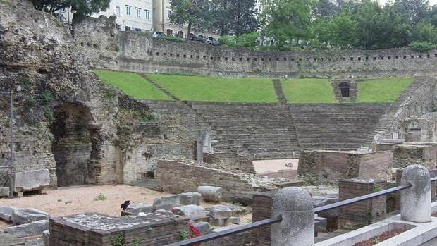 This Roman Theatre dates from the first century A.D.