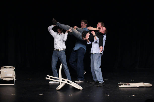 Dallas troupe The Victims will perform Thursday at the fourth annual Improv Festival Oklahoma. Photo provided. <strong></strong>