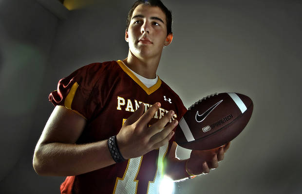 Putnam City North offensive lineman Daniel Burton committed to Iowa State on Thursday.