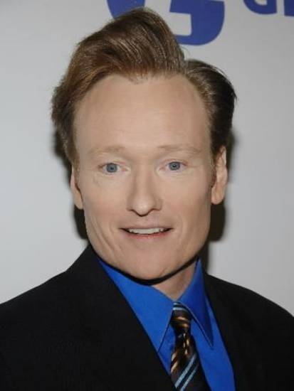 This Nov. 7, 2007 file photo shows  Conan  O'Brien in New York. (AP Photo/Evan Agostini, file)