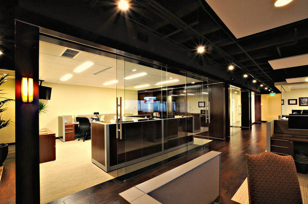 Bockus Payne Associates Architects designed space for Covenant Global Investors in Oklahoma Tower, 210 Park Ave. <strong>Picasa - PROVIDED BY BOCKUS PAYNE ASSOCIA</strong>