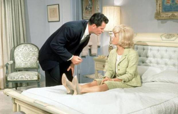 """Norman native James Garner and Doris Day co-star in the screwball comedy """"Move Over, Darling."""" Photo provided"""