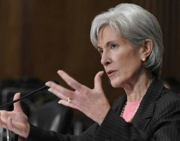In this Feb. 3, 2010 file photo, Health and Human Services Secretary Kathleen Sebelius testifies on Capitol Hill in Washington. (AP Photo/Susan Walsh, file)