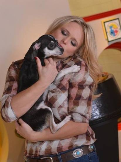 NASHVILLE, TN - DECEMBER 04:  Behind the Scenes Video Shoot with Miranda Lambert  for Pedigree Food for Dogs at the Nashville Humane Association on December 4, 2012 in Nashville, Tennessee.  (Photo by Rick Diamond/Getty Images)