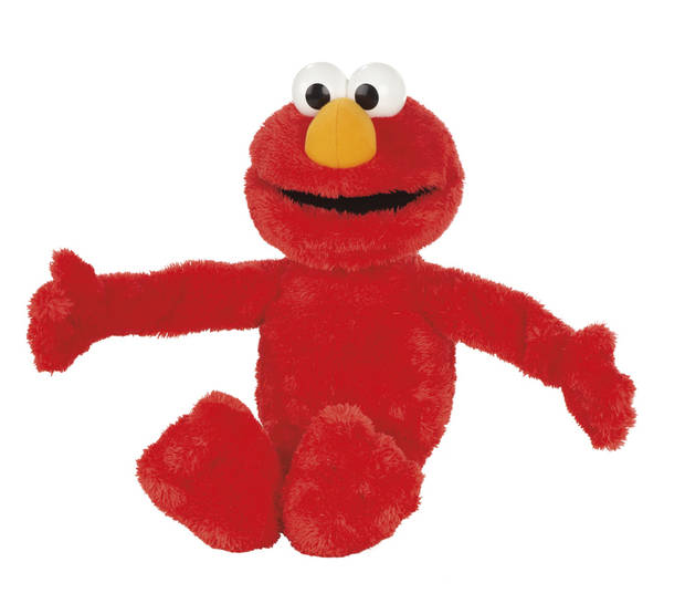 This undated image provided by Toys R Us  shows Big Hugs Elmo.  Big Hugs Elmo made the Toys R Us� list of the best holiday toys for 2013. (AP Photo/Toys R Us)