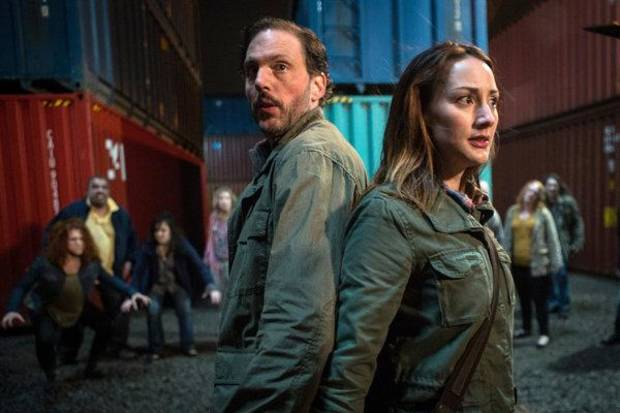 "Silas Weir Mitchell and Bree Turner are shown in a scene from ""Goodnight, Sweet Grimm."" - Photo by: Scott Green/NBC"