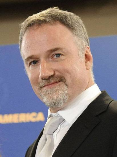 "David Fincher, director of ""The Social Network,"" is shown backstage at the Directors Guild awards in January. AP PHOTO <strong>Chris Pizzello</strong>"