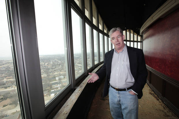 Kevin George walks through his restaurant space before renovations began in March of 2013.